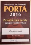 PORTA - Západočeské oblastní kolo Porty 2016